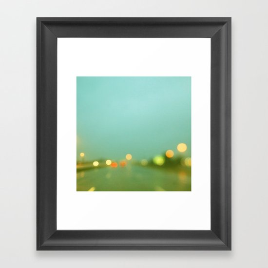 Rainy Days and Mondays Framed Art Print