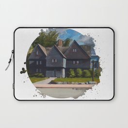 The Witch House by Kevin Kusiolek Laptop Sleeve