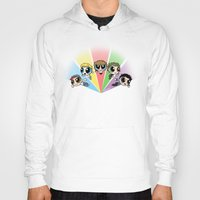 powerpuff girls Hoodies featuring Powerpuff!Direction by Cyrilliart