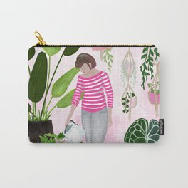 My home jungle (pink) Carry-All Pouch