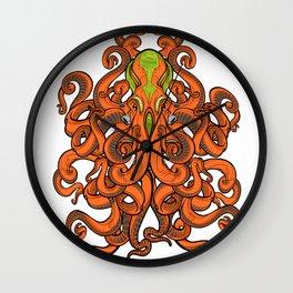 Fear the alien-Kraken! Wall Clock