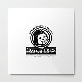 Mustafar-B-Q Metal Print