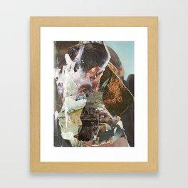 le troupeau Framed Art Print