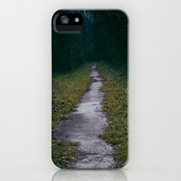 Green Sighs iPhone Case