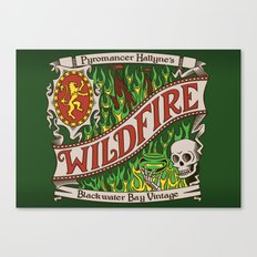 The Green Demon Canvas Print