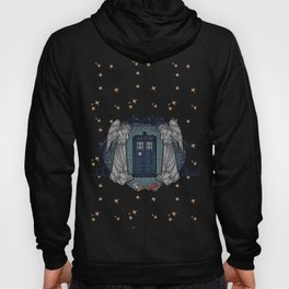 Art Nouveau Weeping Angels and the TARDIS Hoody