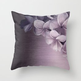 PLUMERIAS OMBRE II Throw Pillow