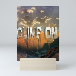 Climb the Mountains Mini Art Print