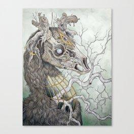 Forgotten Haunts, as a print Canvas Print