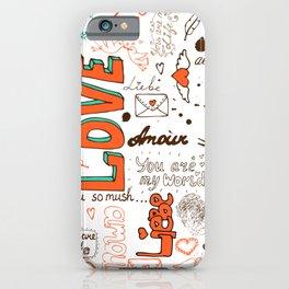 Happy Valentine Day iPhone Case