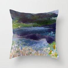recent dream Throw Pillow
