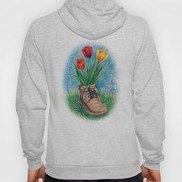 Flower Shoe Hoody