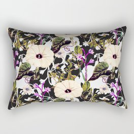 Flowery abstract garden Rectangular Pillow