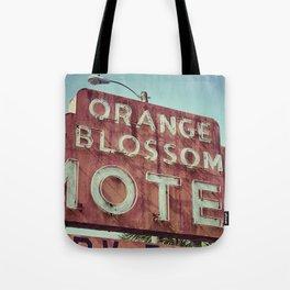 Orange Blossom Tote Bag