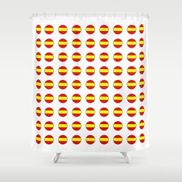 Flag of spain 13-spain,espana, spanish,plus ultra,espanol,Castellano,Madrid,Barcelona Shower Curtain