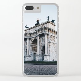 Arco della pace Clear iPhone Case