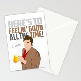 Feelin' Good All the Time! Stationery Cards