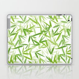 Bamboo Leaves Laptop & iPad Skin