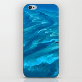 Dramatic Blue Ocean Waves iPhone Skin