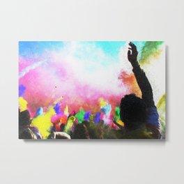 Holi Colors Metal Print