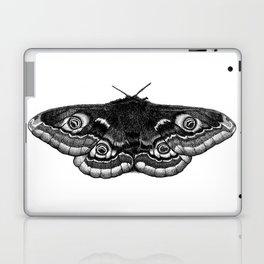 Moth Dotwork Drawing Laptop & iPad Skin