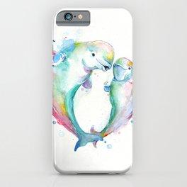 Bubbly Belugas iPhone Case