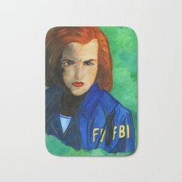 Agent Scully FBI Bath Mat