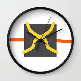 Graphic O2 Wall Clock
