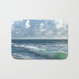 Sea Green Bath Mat