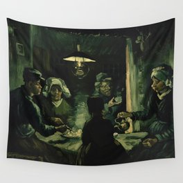 The Potato Eaters by Vincent van Gogh Wall Tapestry