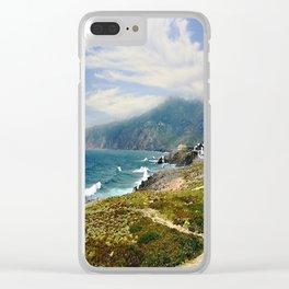 Lisbon Portugal Clear iPhone Case