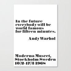 In the future Canvas Print