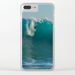 Long Drop Clear iPhone Case
