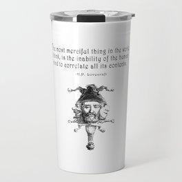 The Most Merciful Thing Travel Mug