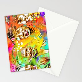 The Stones Pop Art Painting Stationery Cards