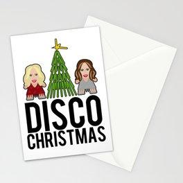 Kylie & Dannii - Disco Christmas Stationery Cards