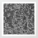 Pixelized Abstract Pattern / GRAY by studiodestruct