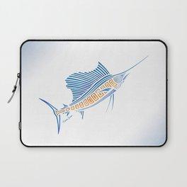 Tribal Sailfish Laptop Sleeve