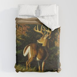 Whitetail Deer Trophy Buck Comforters