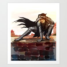 Antivan Crow Art Print
