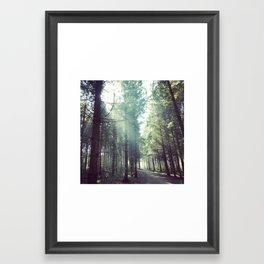 Oxygen Framed Art Print