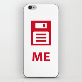 Save me tech style iPhone Skin