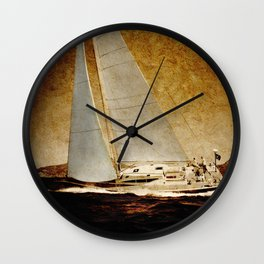sailing Wall Clock