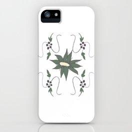 Meadow flower iPhone Case