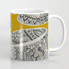 Morning Cuppa! - tea coffee lover zentangle Coffee Mug