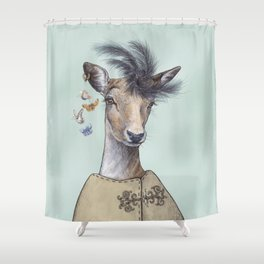 Oh deer, that´s posh! Shower Curtain