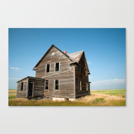 Saskatchewan Farm House Canvas Print