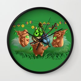 Music in the Forest Wall Clock