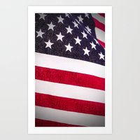 america Art Prints featuring America by Mary Timman