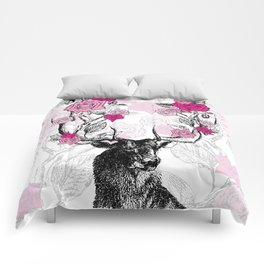 The Stag and Roses Comforters
